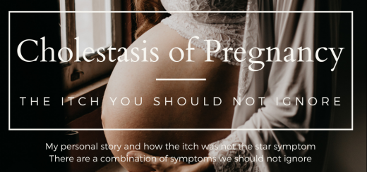 cholestasis of pregnancy. the itch you should not ignore